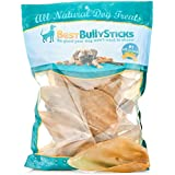 Best Bully Sticks 100% Natural Cow Ear Dog Treats (15 Pack)