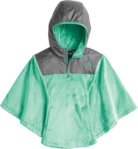 The North Face Girls Oso Poncho,Ice Green,US L by The North Face