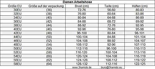 ARDON Latzhose Arbeitshose Arbeitslatzhose Kombihose Damen und M/ädchen Schutzhose