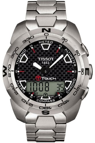 Tissot T-Touch Expert T0134204420100 reloj para hombre reloj de pulsera (reloj de pulsera