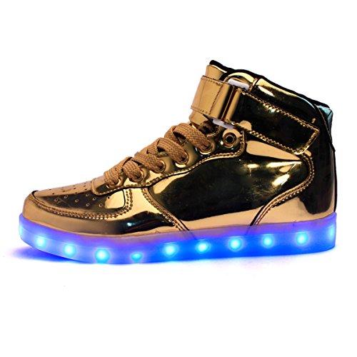 donne Unisex Sneakers Uomo E Luminosi adatto Anche Luci Sportive Accendono Ai Bambini Adulto Led Dogeek Con Scarpe BdxpSqvv
