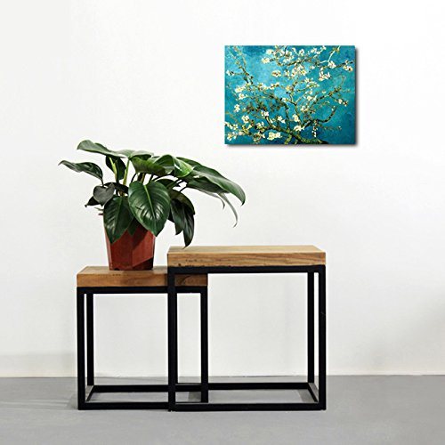 Wieco Art Canvas Print for Van Gogh Oil Paintings Almond Blossom Modern Wall Art for Home Decor