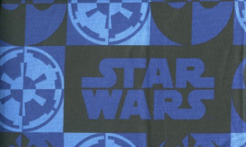 Star Wars Saga Pillow Sham - Standard Size Pillows - Blue