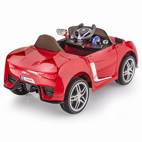 Bmw I8 12v Electric Ride On With Remote Control: SPORTrax BMW I8 Style Kid's Ride On Car, Battery Powered