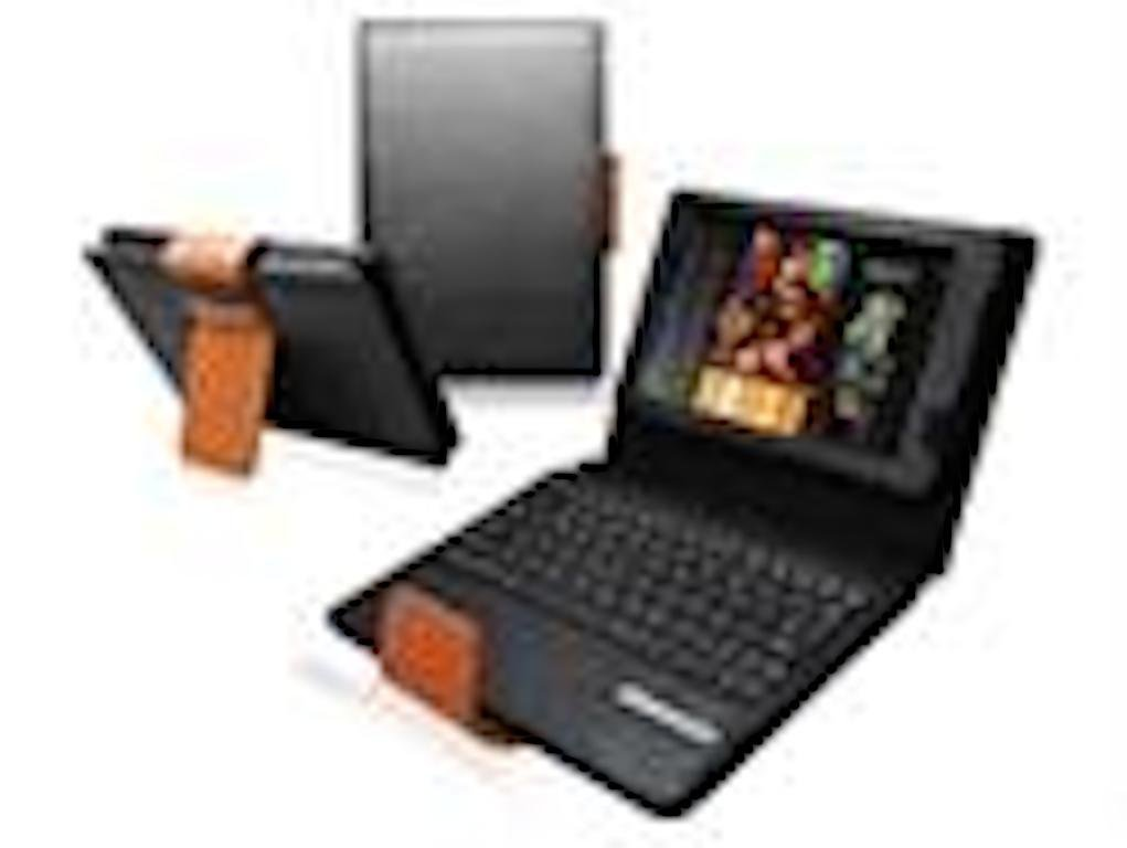 Ionic Bluetooth Keyboard Android Tablet Stand Leather