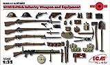 world war 2 bayonet - ICM Models World War I British Infantry Weapon/Equipment Kit