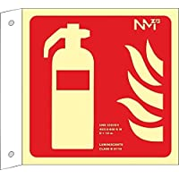 Normaluz RD00B001 - Banderola Luminiscente Extintor Clase B