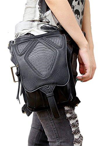 Lovezhou New PU Handbags Steam punk multi-funzionale spalla messenger viaggio tasche