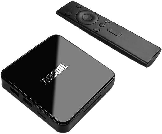 AFFECO HD Digital TV Converter Box 5G Dual WiFi BT4.0 con Cable HDMI Control Remoto HDTV PVR Grabación de TV para Android 9.0 TV, 4GB 64GB S905X2 4K: Amazon.es: Hogar