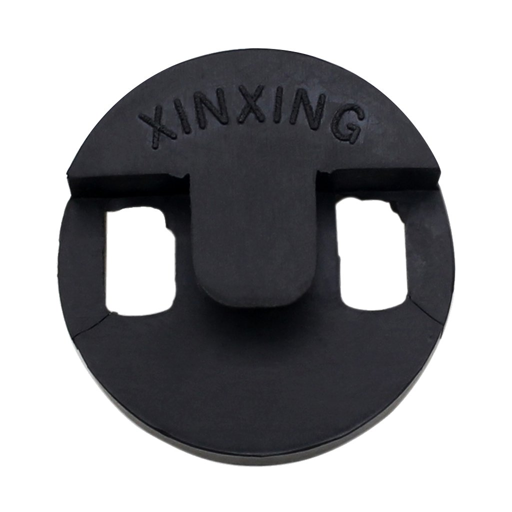 Black Round Rubber Cello Mute Sound Silencer Musical Instrument Accessories Generic STK0157002961