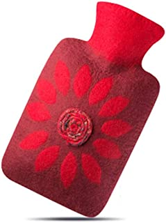 TD Grand Chauffe-Eau antidéflagrant de Bouteille d'eau Chaude d'injection d'eau de Manteau de Laine de Grand Confort Confortable (Couleur : 4)