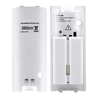 Amazon.com: Wii Rechargeable Batteries for Nintendo Wii ...