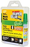 Super Glue 15185 Gel, 12-Pack, .07oz tubes