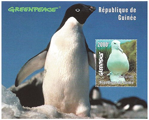 greenpeace-penguin-wildlife-stamp-sheet-for-collectors-guinea-1998