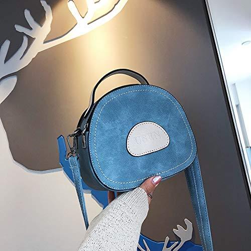 à d'été Sac Femme de Mode personnalité Messenger Sac Sac Bleu marée WSLMHH épaule Sauvage Main wCf1Tq5Xx