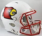 NCAA Louisville Cardinals Full Size Speed Replica Helmet, Red, Medium