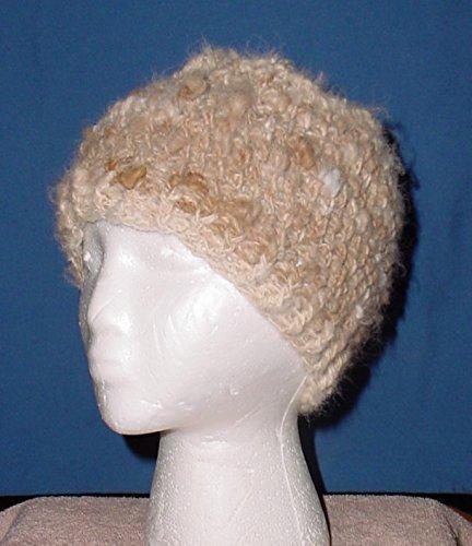 5537a483017 Amazon.com  100% Alpaca crochet beanie hat cap 3 times warmer than wool.   Handmade