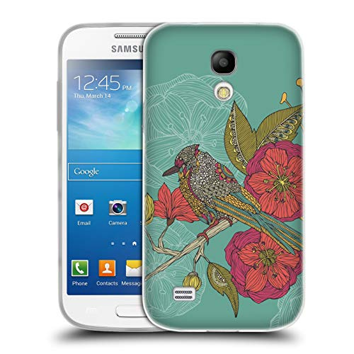 Official Valentina Contented Constance Birds Soft Gel Case for Samsung Galaxy S4 Mini I9190