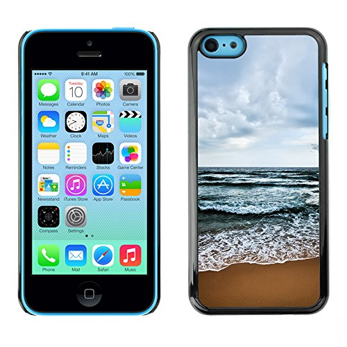 Premio Sottile Slim Cassa Custodia Case Cover Shell // V00002620 Plage // Apple iPhone 5C