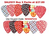 Guitar-Picks-for-Girls-Medium-Celluloid-Assorted-Variety-12-Pack-Collection-Pretty-Unique-Designs-Cool-Pink-Leopard-Best-Gifts-for-Princess-Kids-Teens-Women-Ladies-Female-Guitar-Players