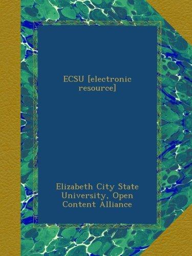 ECSU [electronic resource] ebook