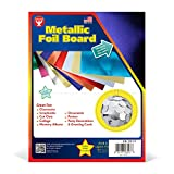 Hygloss Products Metallic Foil Board Sheets-8.5 x