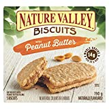 Nature Valley Biscuits Peanut Butter, 5-Count, 190 Gram