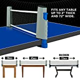 All-in-ONE Ping Pong Set - Includes Ping Pong Net