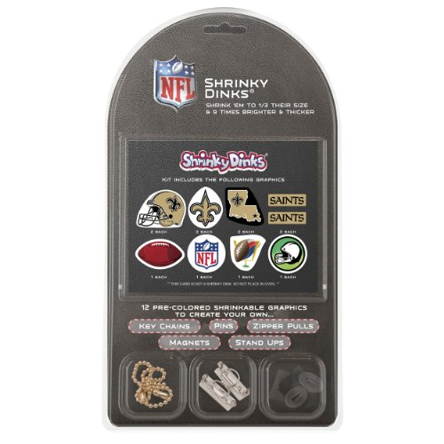 NFL New Orleans Saints Shrinky Dinks