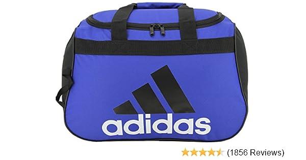 ff18d803aabd Amazon.com  adidas Diablo Duffel Bag-BOLD BLUE BLACK WHITE