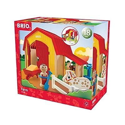 Brio My Home Town - Farm Set: Toys & Games
