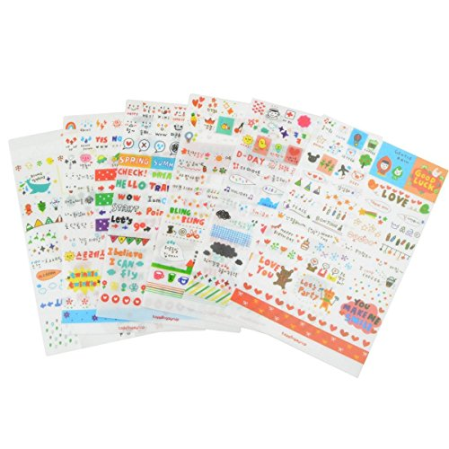 yueton Transparent Scrapbooking Scrapbook Decoration