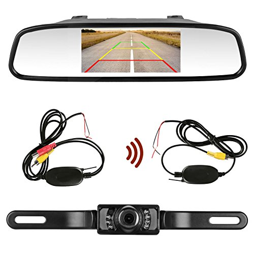 wireless car rear view camera kit - 6