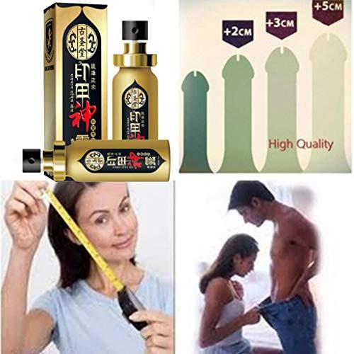 Men's Penis Massage Maintenance Man External Essential Oil Penis Enlargement Delayed Bigger Thickening Erection Bacteriostasis Oil Cream Male Enhancement Increase Thickening Erection (Gold)