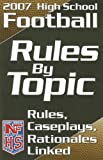 High School Football Rules by Topic, National Federation of State High School Associations, 1582080852