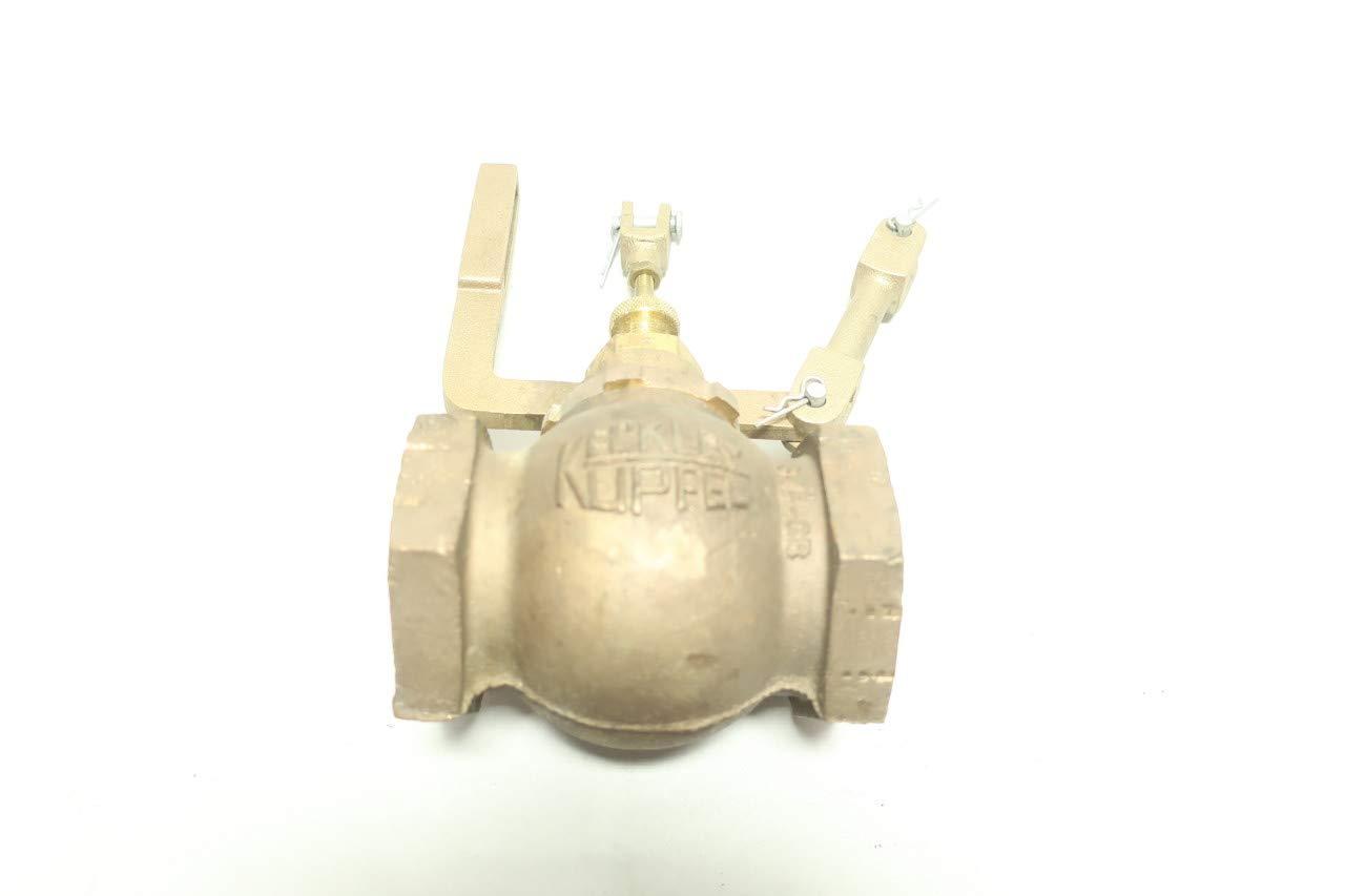 KECKLEY Type 27 Globe Float Valve 1-1//2IN NPT R672309