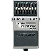 Boss GEB-7 Pedal de ecualización de bajos de 7 bandas