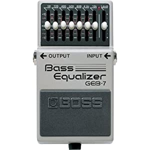 BOSS EQ-200 Programmable Graphic Equalizer – GE-7