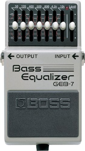 BOSS Seven-Band Graphic Bass