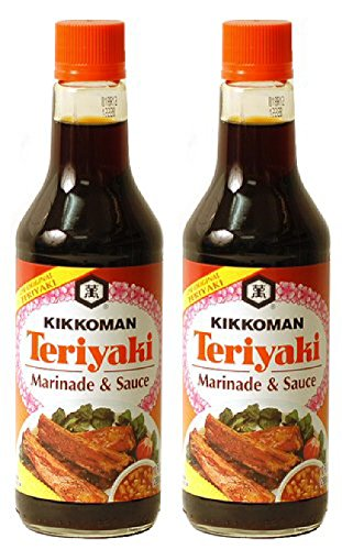 Kikkoman Teriyaki Marinade & Sauce, 20 Ounce (Pack of 2) -