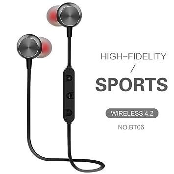 Auriculares inalámbricos Bluetooth con cancelación de ruido estéreo y cable de datos USB en uno para