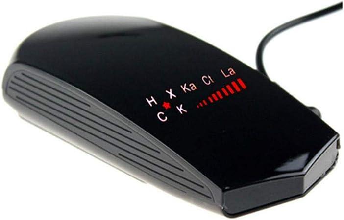 Plage de d/étection de 200-800 m/ètres du Dispositif de d/étection Radar Muxan D/étecteur de Radar 360 degr/és dangle Ultra-pr/écis Alarme vocale Dispositif de d/étection Radar OEM pour alarmes