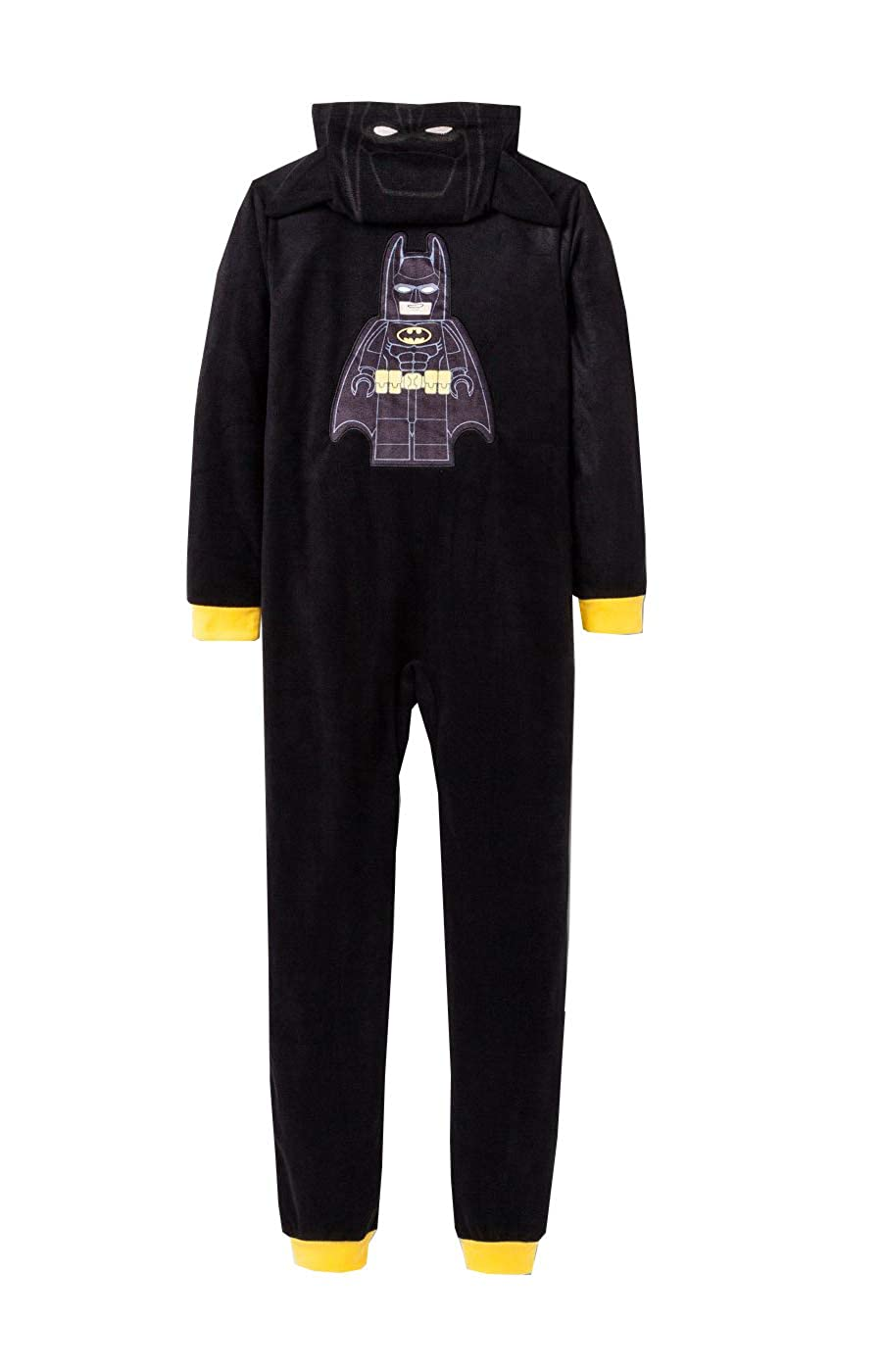Batman Boys Hooded Pajama Union Suit