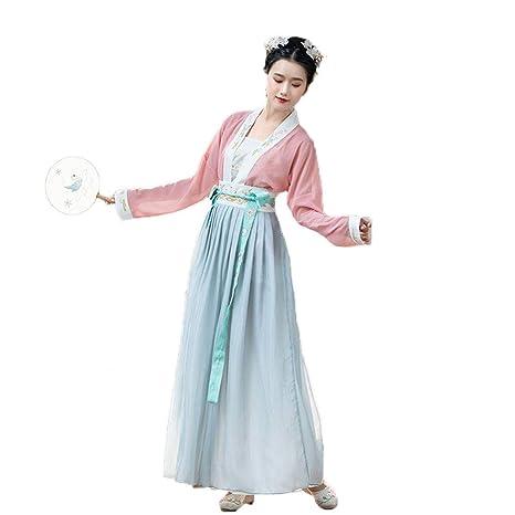 YCWY Traje Chino Antiguo de la Mujer, Vestido Chino del ...