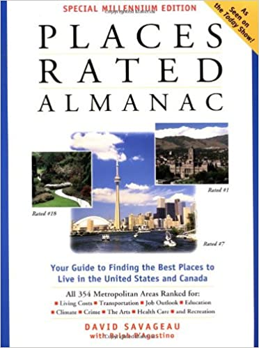 Amazon Fr Places Rated Almanac David Savageau Livres