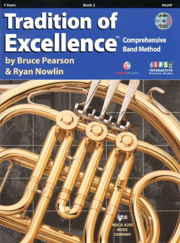(W62HF - Tradition of Excellence Book 2 - F Horn)