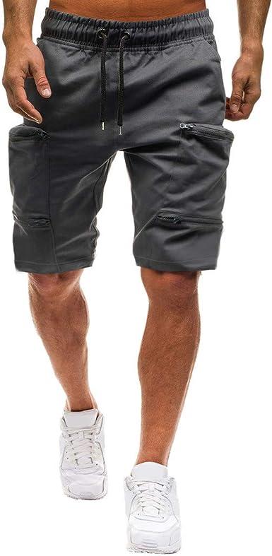 Herren Locker Baumwolle 3//4 Knie Freizeit SPORTS Shorts Strand Hose Mode