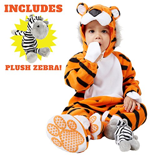 Spooktacular Creations Deluxe Baby Tiger Costume Set (12-18 (Baby Tiger Costume)