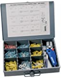 Ancor 320001 Marine Grade Electrical Heat Shrink Connector Kit with Crimper and Mini Torch (257-Piece) (257-Pack)
