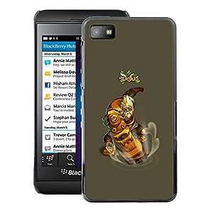 For Blackberry Z10 Case , Dofus - Diseño Patrón Teléfono Caso Cubierta Case Bumper Duro Protección Case Cover Funda